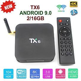 TV-Приставка TX6 2GB/16GB (Android Smart TV Box)