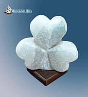 Светильник соляной Клевер 3-4 кг