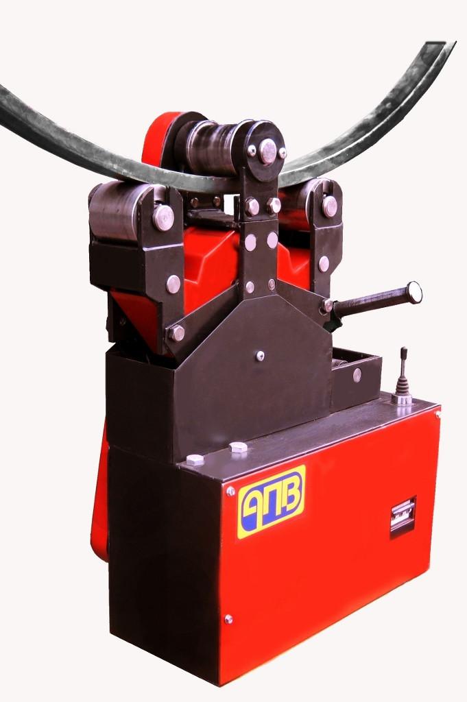 Электрический гидравлический профилегиб АПВ-10  Тип привода Электрический Макс. сечение труб 38 мм