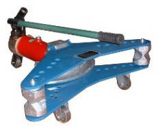 Ручной гидравлический трубогиб ТГ-3 Тип привода Ручной Макс. сечение трубы 75 мм