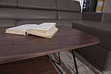 Стол журнальный Lyon B 4570C орех, фото 7