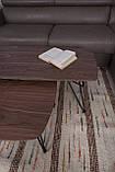 Стол журнальный Lyon B 4570C орех, фото 9