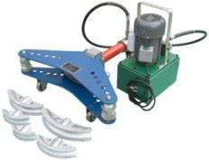 Электрогидравлический трубогиб ТГЭ-3  Тип привода Ручной Макс. сечение трубы 75 мм