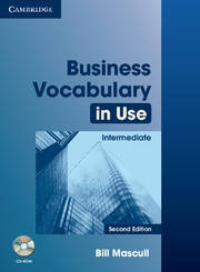 Business Vocabulary in Use 2nd Edition Intermediate with Answers and CD-ROM