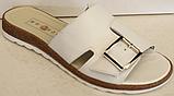 Сабо бежевые кожаные женские от производителя модель БМ501, фото 2