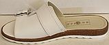 Сабо бежевые кожаные женские от производителя модель БМ501, фото 3