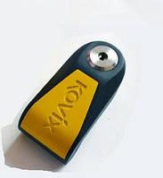 KOVIX KNL15 Противоугонный замок на диск мотоцикла  с сигнализацией, фото 1