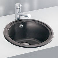 Кухонная мойка ALVEUS ABLUO 10-N (UG M-44 черный металлик)