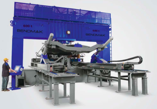 Пресс для фланжировки Bendmak BMBP 150xD   Толщина металла 10 мм Усилие 150 т