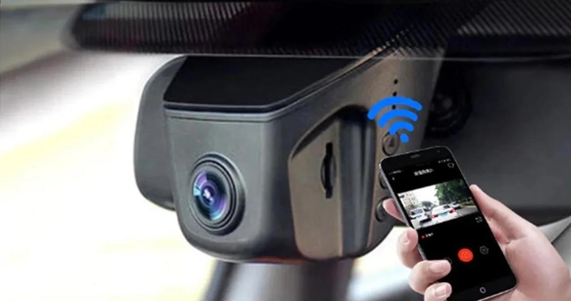 Автомобильный видеорегистратор DVR D9 WiFi HD 1080p  на лобовое стекло