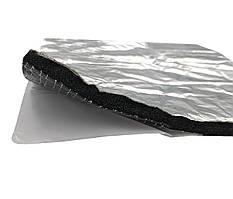 Вспененный фольгированный синтетический каучук самоклеящийся, толщ.-16мм