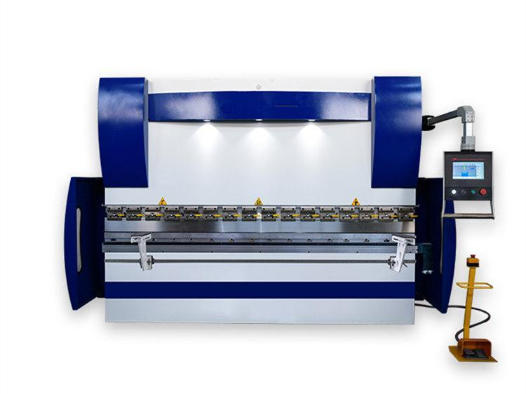 Вертикальный листогибочный пресс WE67K-100T/2500 DA-E80T Рабочая длина 2500 мм Усилие 100 т