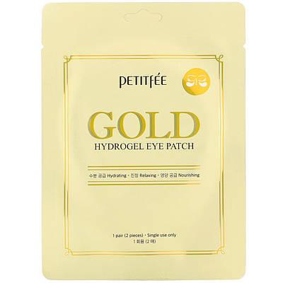 Гідрогелеві патчі для очей з золотим комплексом +5 PETITFEE Gold Hydrogel Eye Patch (1 пара)