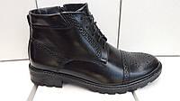 Мужские кожаные зимние ботинки Senator BoMar , фото 1