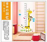 Інтер'єрна наліпка на стіну ростомір Жираф / Интерьерная наклейка на стену ростомер Жираф, фото 2