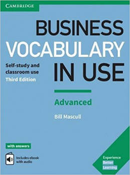 Business Vocabulary in Use 3rd Edition Advanced with Answers and Enhanced eBook