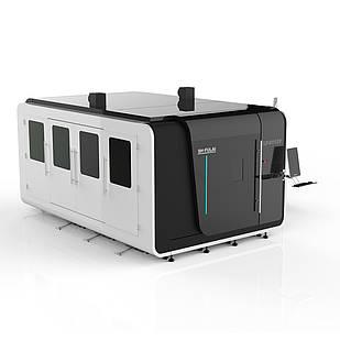 Волоконный лазер Gweike LF3015P (модель High класса c защитной кабиной)Раб.зона 3x1.5м Мак.ускор1.5G
