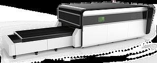 Волоконный лазер Gweike LF3015GA (модель High класса c защитной кабиной и сменным столом)