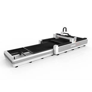 Волоконный лазер Gweike LF3015GC (модель High класса отдельный электрический шкаф с кондиционером и сменными с