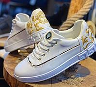 Мужские кроссовки Versace CK557 белые