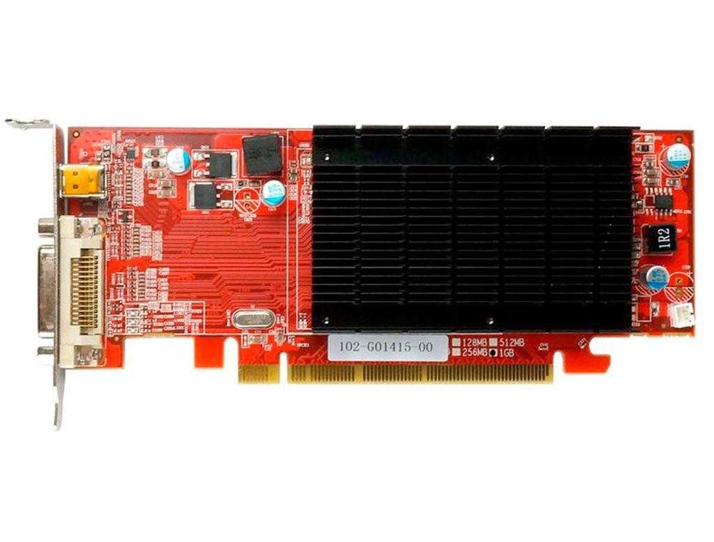 Видеокарта VisionTek HD 6350 1Gb PCI-Ex DDR3 64bit (DMS-59, miniDP) низкопрофильная