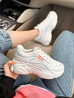 Женские кроссовки светло-бежевые SupRM