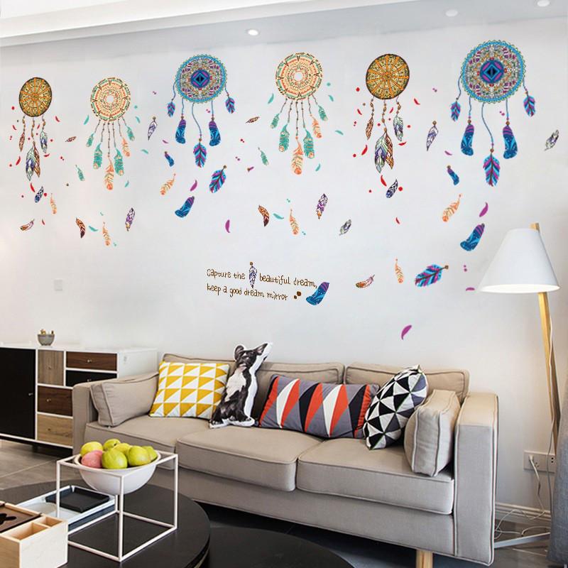 Інтер'єрна наліпка на стіну Ловець снів / Интерьерная наклейка на стену Ловец снов XL8270