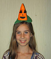 Обруч Тыква на Хеллоуин