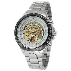 Winner 8067 Silver-Black-Gold Cristal