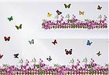 Интерьерная наклейка на стену Бабочки AM810, фото 2