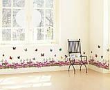 Интерьерная наклейка на стену Бабочки AM810, фото 3