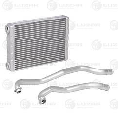 Радиатор отопителя Nissan Juke (F15) (10-) 202*162*26 (Трубки+хомуты, 2шт.) (LRh 14KA) Luzar271401KA0B