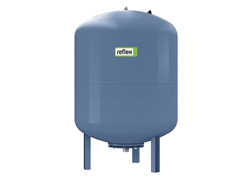 Гидроаккумулятор вертикальный 80L DE Reflex (Синий) 10 бар