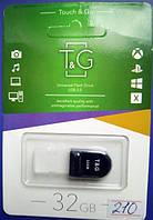 Флешка T&G USB 2.0 Mini-black 32Gb