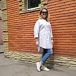 Блуза из турецкого хлопка Бохо. 50-58, фото 7