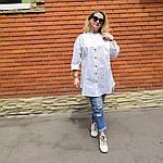 Блуза из турецкого хлопка Бохо. 50-58, фото 6