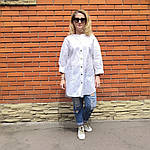 Блуза из турецкого хлопка Бохо. 50-58, фото 5