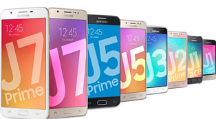 Samsung Galaxy J - серия