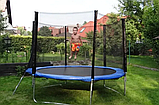 Большие Батуты Funfit (Польша) 183/252/312/465/490 см с сеткой и лесенкой, фото 2