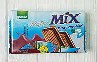 Вафли с шоколадом Gullon Wafer Mix Nata y chocolate 210г (Испания), фото 1