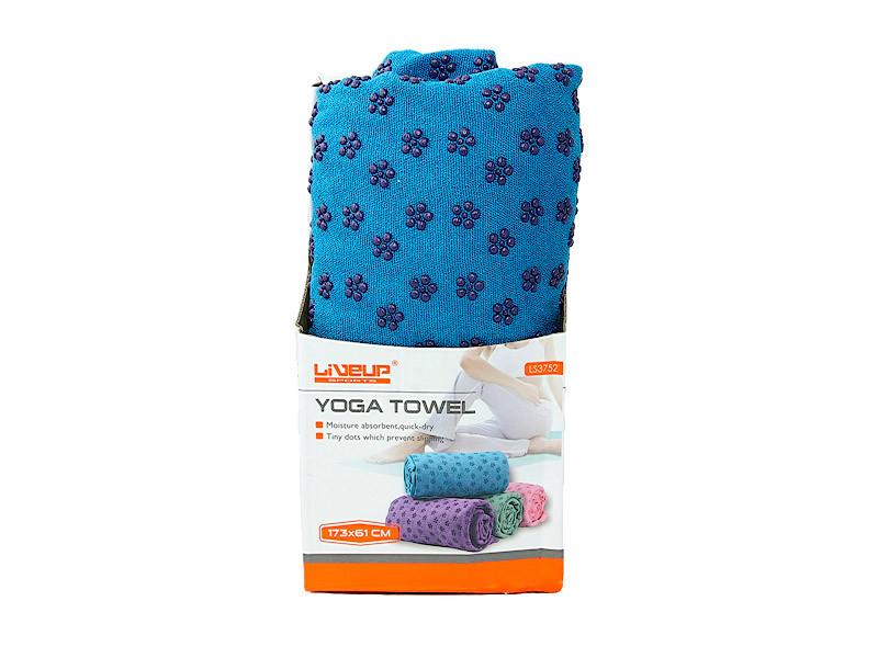 Полотенце для йоги LiveUp Yoga Towel Blue (LS3752)