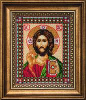 Б-069 Икона Господа Иисуса Христа. Набор для вышивания бисером