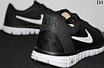 Чоловічі кросівки Nike Free Run 3.0 (чорно-білі) D4, фото 3
