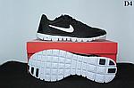 Чоловічі кросівки Nike Free Run 3.0 (чорно-білі) D4, фото 8