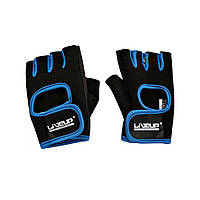 Рукавички LiveUp Training Gloves Black-Blue (LS3077-SM)