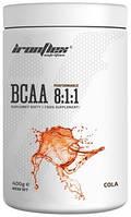 Аминокислоты IronFlex - BCAA 8:1:1 (400 грамм) cola/кола