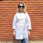 Блуза из турецкого хлопка Бохо. 50-58, фото 4