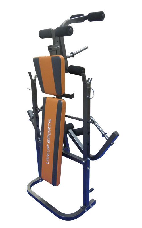 Лавка для преса LiveUP Fitness Weight Bench (LS1101)