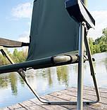 Кресло-шезлонг складной Mavens F-2 хаки усиленное сидение (05-0015), фото 3