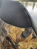 Стілець-крісло для риболовлі Mavens R-1 з підсклянником, чохол в комплекті (05-0022), фото 3